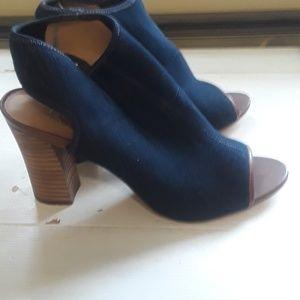 Franco sarto open toe heels 8.5